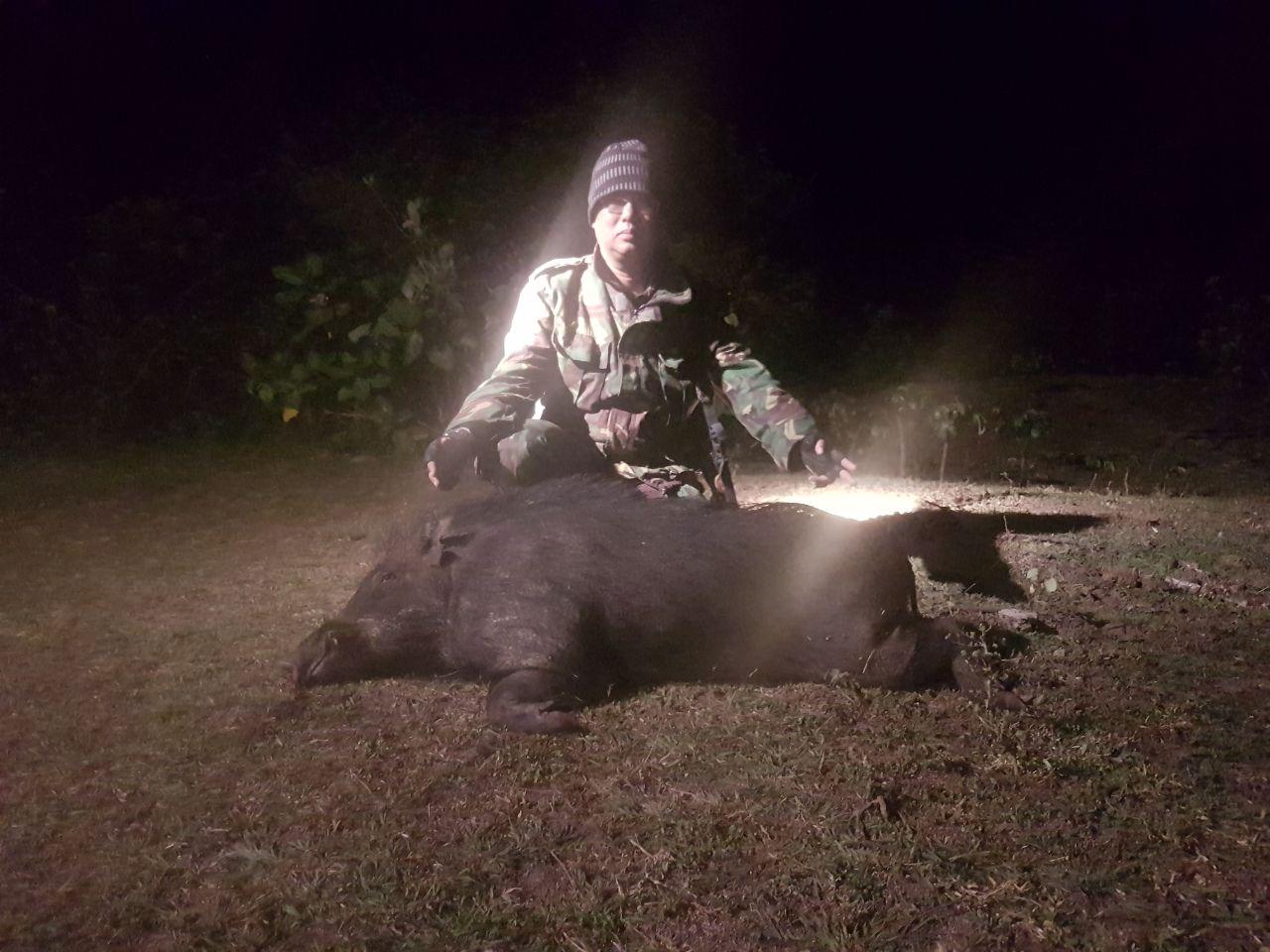 Salah satu hasil buruan di malam hari.