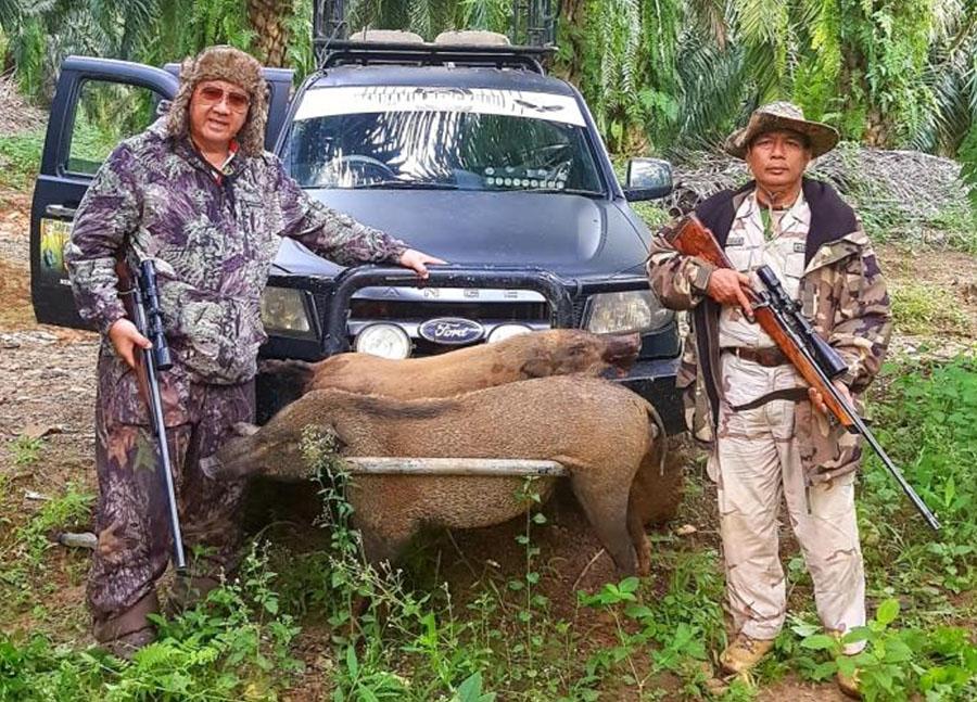Saya dan hunter Prayit dari bengkulu.